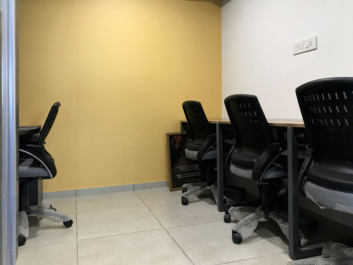 private cabin space at coworking space in Ahmedabad Uncubate Coworking