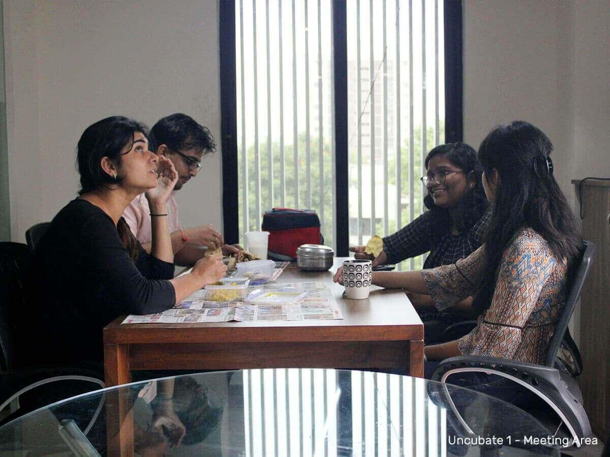 Meeting-area-1-Uncubate-1-coworking-space-ahmedabad
