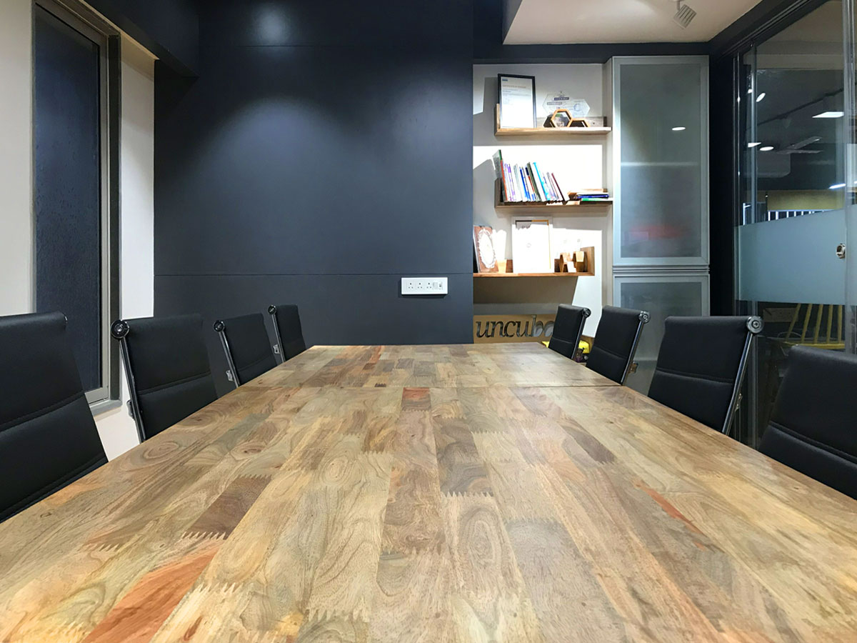 uncubate coworking space in Ahmedabad - book conference room